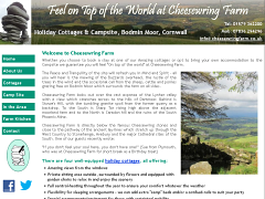 Cheesewring Farm Holiday Cottages and Campsite, Cornwall